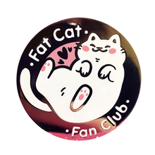 Жесткий эмалированный штифт для клуба Fat Cat Fan