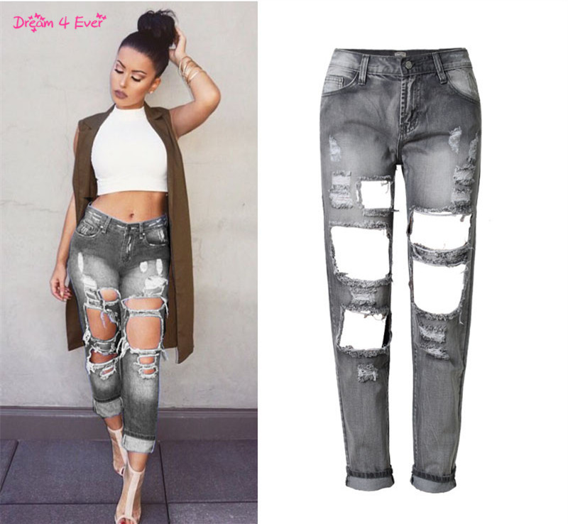 Compare Prices on Ripped Jeans for Women Big- Online Shopping/Buy ...