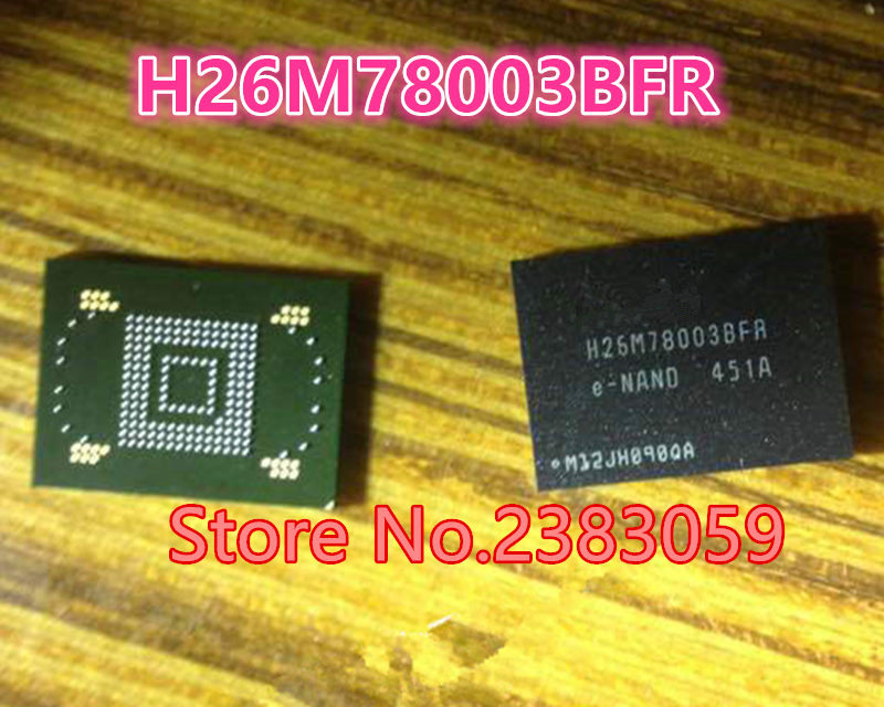 цены Aowezii(1PCS) (2PCS) (5PCS) (10PCS) 100% new original H26M78003BFRE-NAND H26M78003BFR 64GB BGA Memory chip H26M78003BFR E-NAND