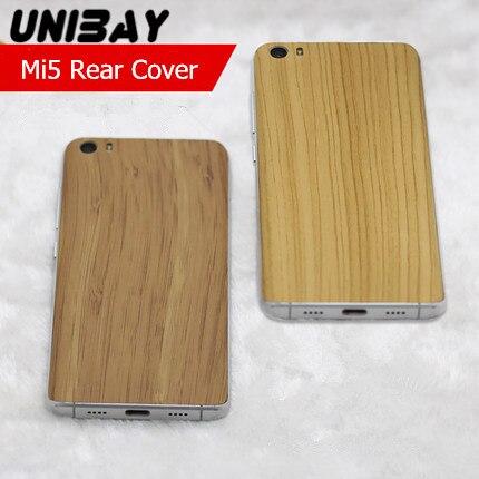 imágenes para Xiaomi mi5 Color del grano de madera De Plástico Caso xiaomi mi 5 Batería contraportada caso de vivienda de Reemplazo de La Contraportada Para Xiaomi mi5