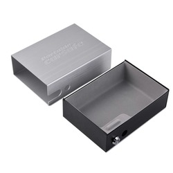 Caja de Seguridad portátil para coche, caja de seguridad para llaves, caja de seguridad para joyas, caja de almacenamiento para pistolas, caja fuerte de seguridad de aleación de aluminio, caja fuerte, Cable fijo