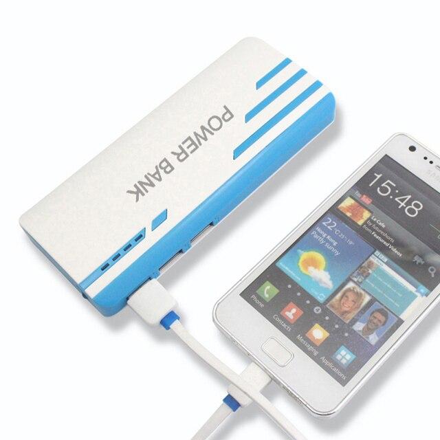 DCAE Настоящее 12000 мАч Банк 3USB 18650 Зарядное Устройство LED портативное зарядное устройство Для LG Xiaomi iPhone 5 6 HUAWEI