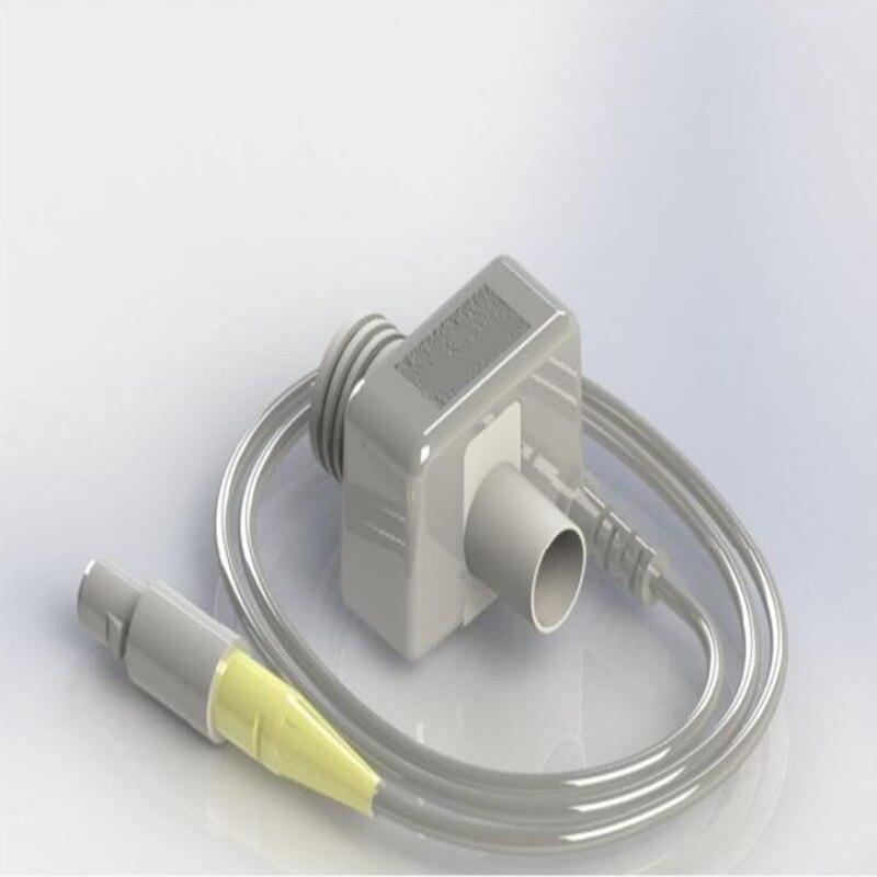 Accuflow Etco2 Sensor Zijstroom Sensor Module Patiënt Monitor Systeem ETCO2 Monitor Gebruikt Voor Contec Monitor Test Adem