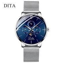 2020 luxo automático relógio mecânico masculino esporte relógio de pulso pulseira masculino reloj hombre tourbillon