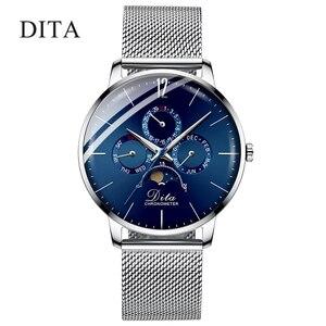 Image 1 - Montre bracelet automatique de sport pour hommes, luxe, 2020