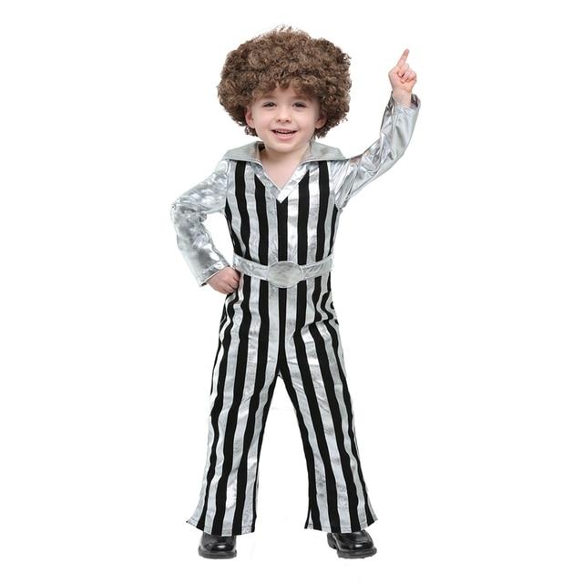 Dazzling Disco Kinder Tanzen Kostüm Halloween Party Geck Overall ...