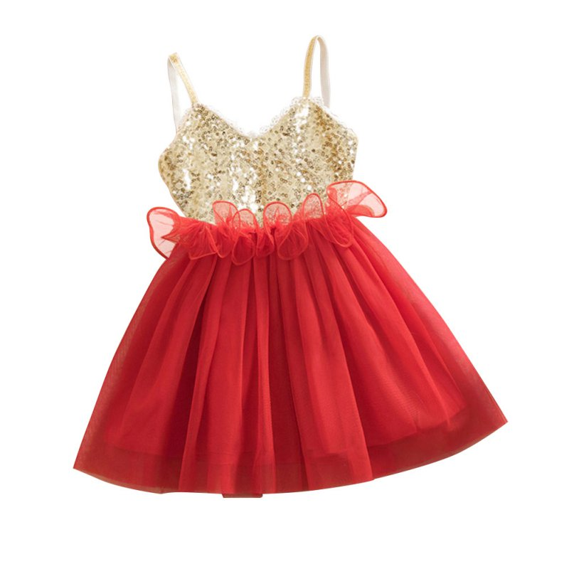 New-Princess-Girls-Kids-Baby-Sequins-Wedding-Tulle-Tutu-Dress-Sundress-Toddler-Girls-Dress-3