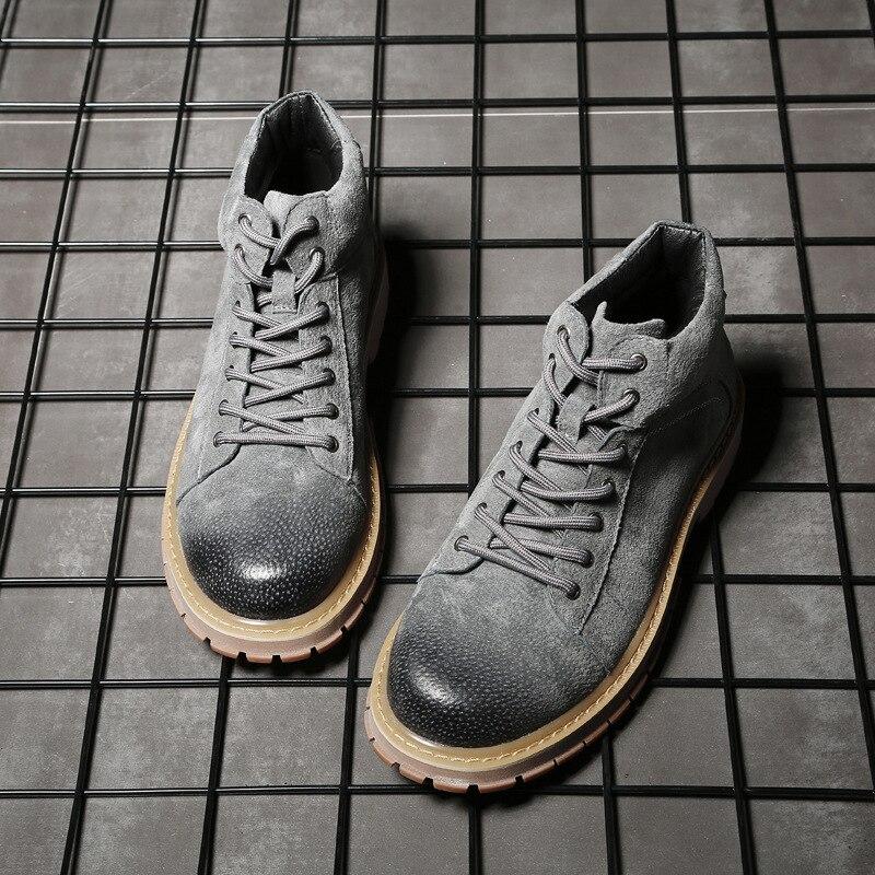 Chaussure Homens De Motocicleta Mocassins Couro Dos Homme 3 2 Outono 1 Sapatos Martin Da Primavera Vaca Moda Oxfords Shoes xzqfpBw6If