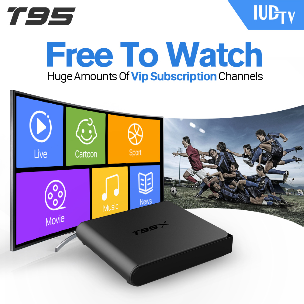 European IPTV Box T95X Android TV Box IPTV Receiver 1300 French Turkish Netherlands Channels Android TV Box movie iptv