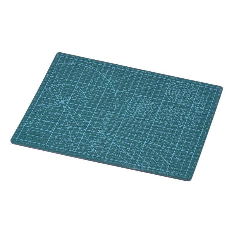 A4 A3 Wholesale Double-Sided Cutting Mat Pad Advertising Design Engraving Model Board Medium Knife Scale Plate 22cm*30cm Office цена