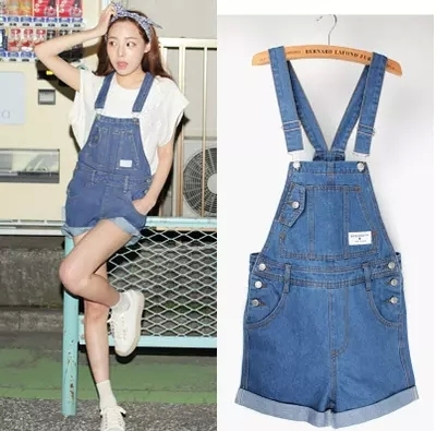 1e9dc8acd37b denim jumpsuit junior students blue color plus size jumpsuits and rompers  for women