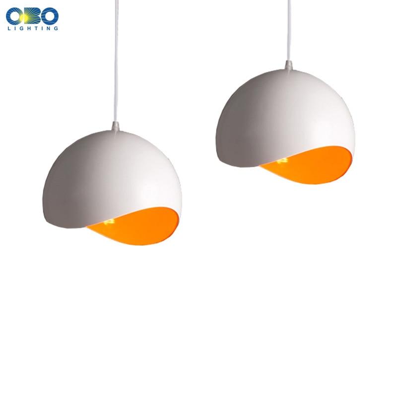 Moderns alumīnija vienkāršais stila kulons lampas iekštelpu ēdamzālē foajē mājas rotaļlietas kulons gaismas 110-240V bezmaksas piegāde