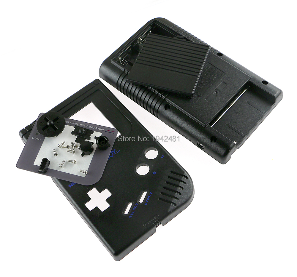 Game boy color kabel - 12pcs Lot 5 Colors Full Housing Shell Case For Nintendo Gb Gameboy Game Consoles Case