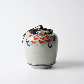Jingdezhen Keramik Tee Glas Chinesischen Kung Fu Tee-Set Zubehör Dichtung Tee Blätter Caddies Bohnen Candy Dosen Kanister Dekoration Kunst