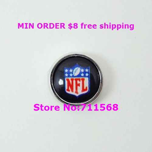 National Football League Logo Floating Charm US Football Team Locket Charm For Memory Glass Locket Accessories