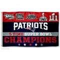 New England Patriots 2016 Super Bowl Чемпионов LI Флаг