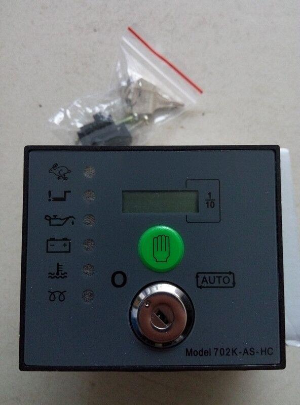 Free shipping 702K AS-HC 702K-AS-HC Auto Start Generator Controller Board Key Start Module free shipping dse501nk engine generator controller module auto start controller