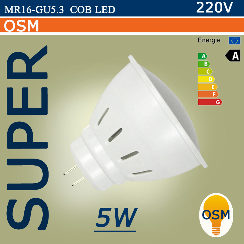 Lampada led lamp gu5 3 mr16 220v 5w 7w smd2835 ampoule led - Ampoule gu 5 3 ...