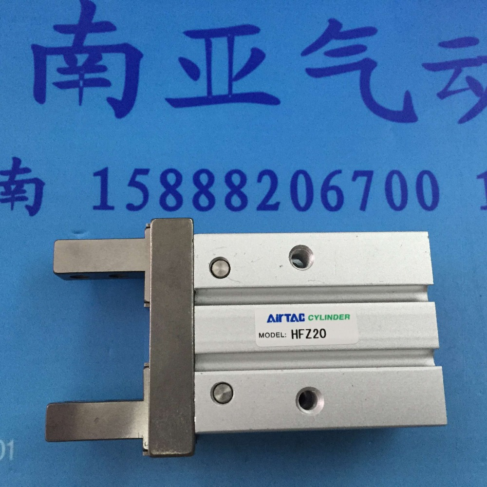 HFZ20 AIRTAC Pneumatic Finger cylinder air cylinder pneumatic component air tools su50 400 s airtac thin three axis cylinder with rod air cylinder pneumatic component air tools