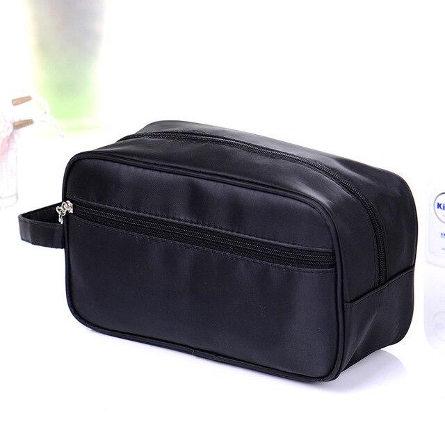 Designer Makeup Bags For Women Luxury Men Toiletry Bag Fabric Travel Cosmetic Wash Organizer
