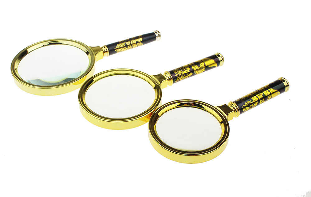 10X Magnifier Magnifying Glass Lens Jewelry Handheld Reading Loupe 60//70//80//90mm