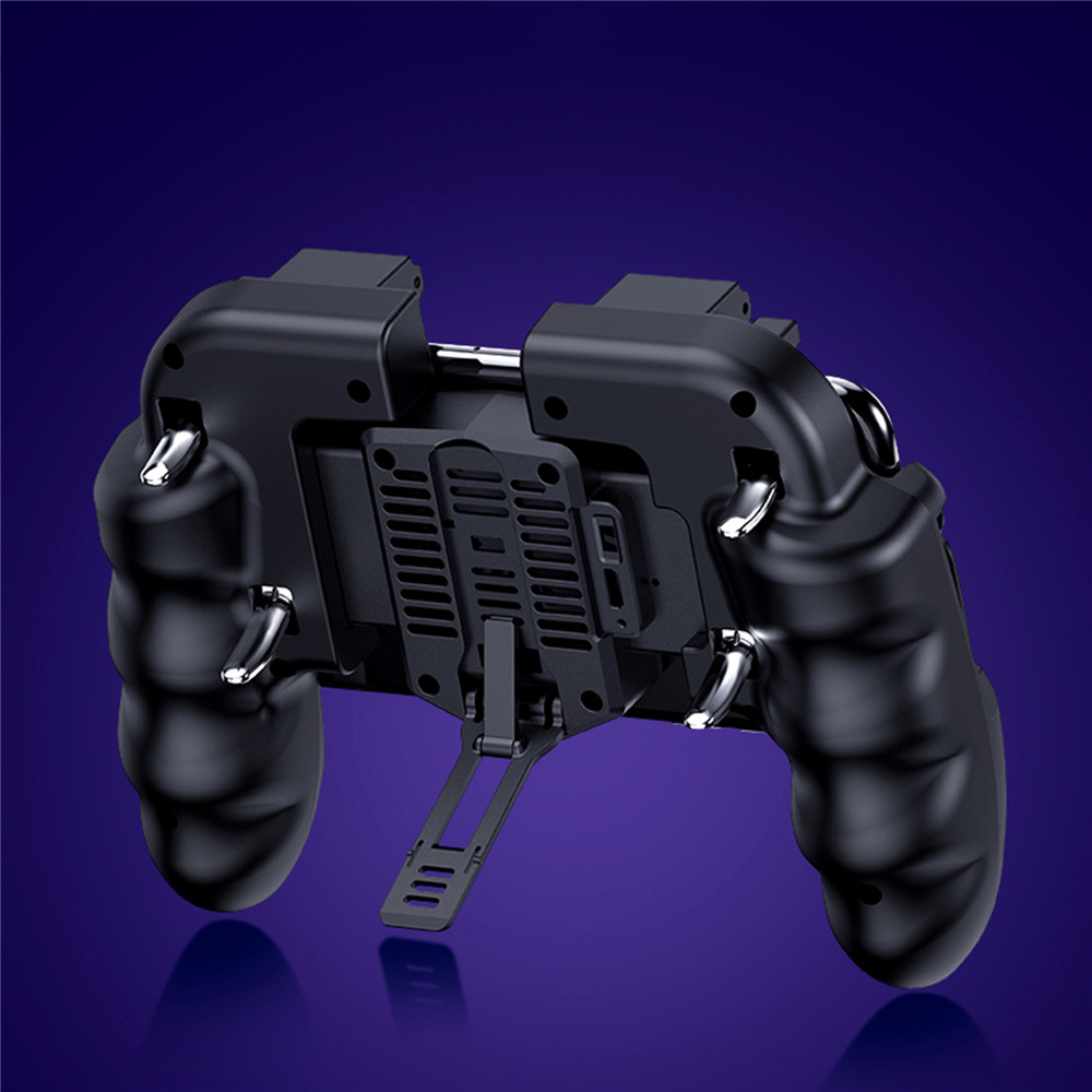 PUBG Mobile Controller Gamepad With Cooler Cooling Fan For iOS Android For  Samsung Galaxy L2 R2 Operation Joystick Cooler