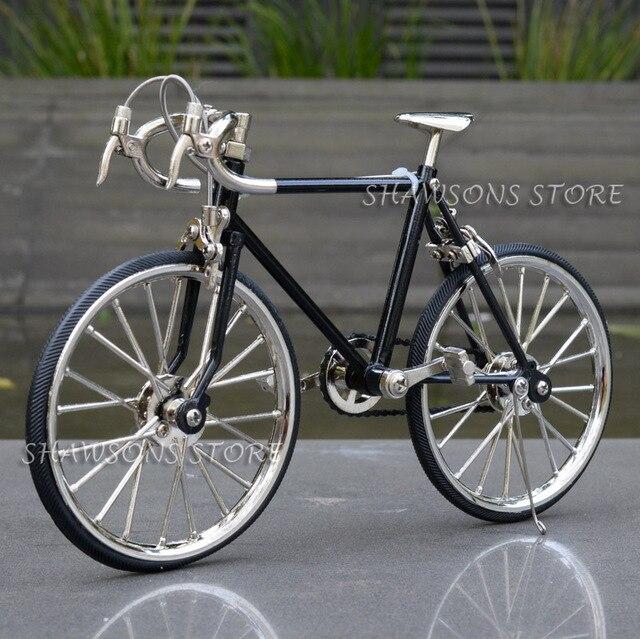 Diecast דגם צעצועי 1:10 מרוצי אופני אופניים העתק מיניאטורי אוספים