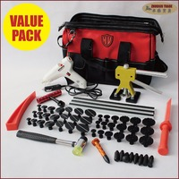 pdr tools kit paintless dent repair glue tabs puller lifter car bodyworking remove dents remover fix auto body system pulling