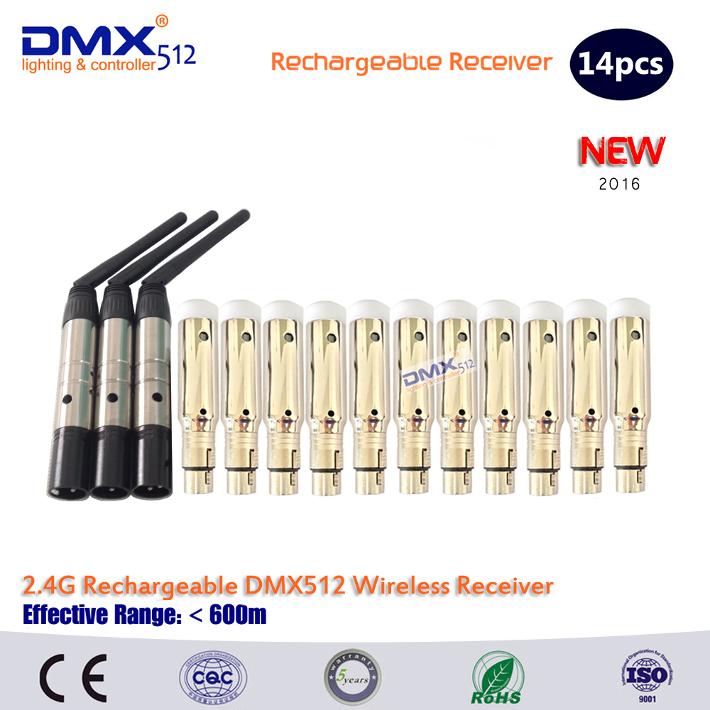DHL Free shipping 2.4GHz XLR Wireless dmx512 controller for LED Moving Head  DJ Disco Light dhl free shipping 36ch dmx512 controller 13 groups rgb output have xlr