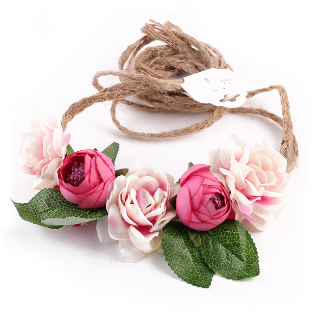 Women Floral Hairband