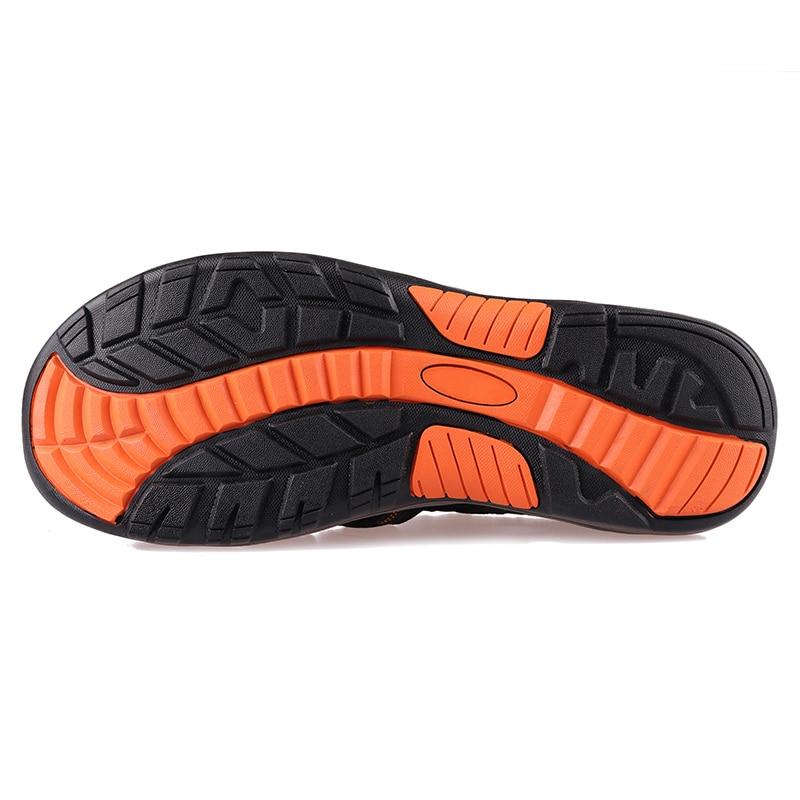 GRITION Men Sandals Platform Beach Outdoor Summer Adjustable Walking Shoes Close Toe Fisherman Gladiator Water 2019 Sandalias 2
