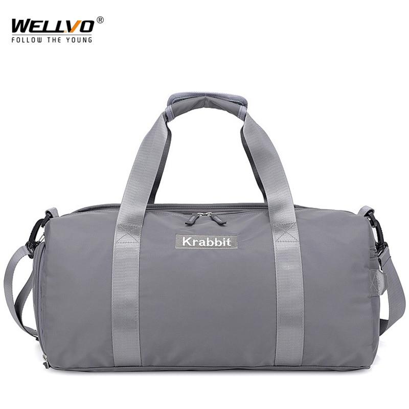 Nylon Travel Bags Large Capacity Men Travel Bags Hand
