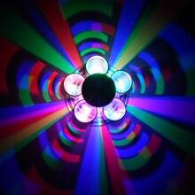 Светодиодные Бра AC85-265V светильник настенный бра Лампы Цветок 3 Вт Современное Освещение Для Внутренней Отделки Свет Для КТВ Бар Ресторан гостиная Д. А
