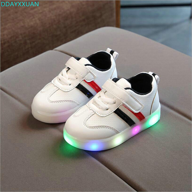 Lovely European 2018 princess boys girls shoes solid todders patch high quality baby sneakers hot sales Spring/Autumn baby shoes