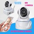 Sem fio wi-fi Câmera de rede IP 720 P HD 1.0 Mega Rede P2P IR-CUT Gravação de Visão Noturna PT