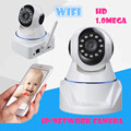 Wireless wifi  IP network Camera 720P HD 1.0Mega P2P  Network IR-CUT Night Vision Recording PT