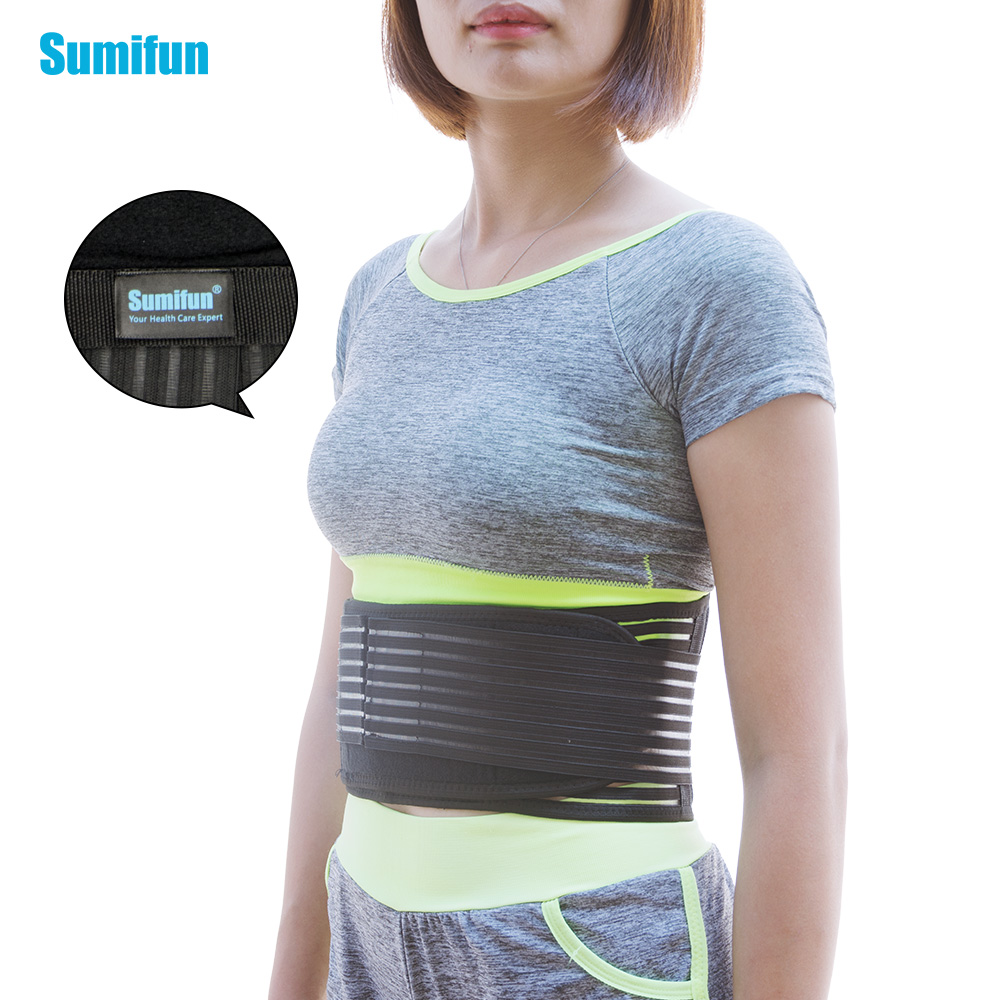 Adjustable Spontaneous Heating Lower Pain Relief Waist Protection Magnetic Therapy Waist Support Lumbar Brace Belt Massage Z698