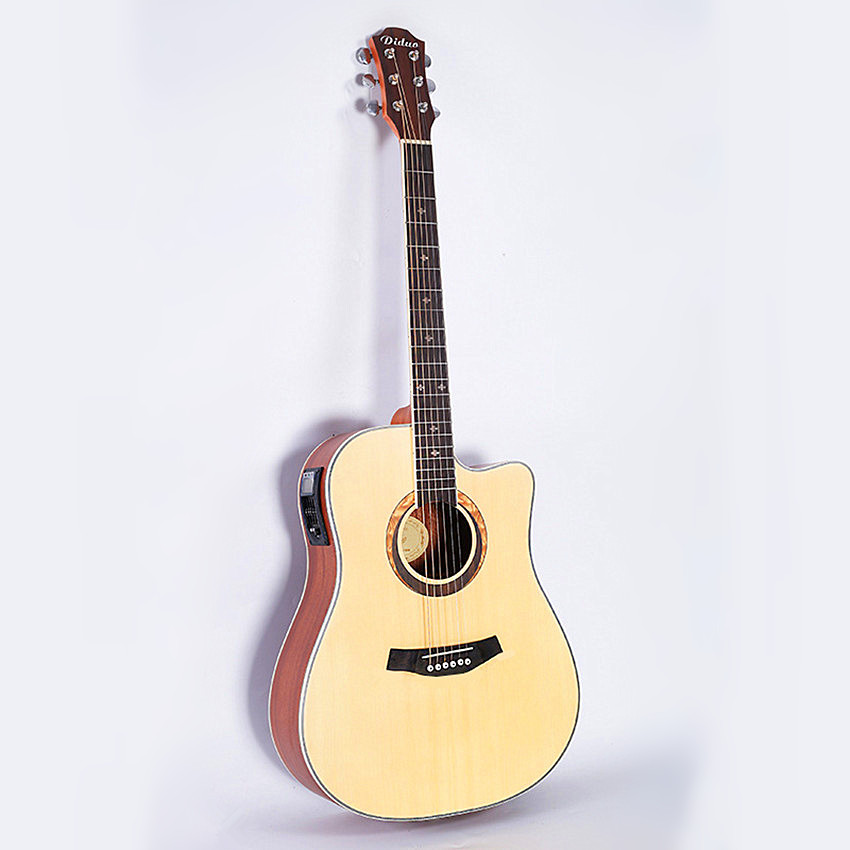 NEW guitars 41 inch high quality 5 EQ Electric Acoustic Guitar Rosewood Fingerboard guitarra with guitar pickup tuner strings joyo eq 307 folk guitarra 5 band eq acoutsic guitar equalizer high sensibility presence adjustable with phase effect and tuner