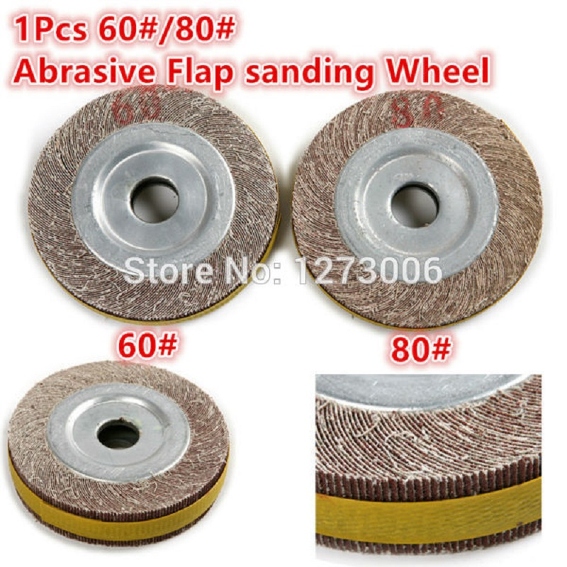 New 1Pcs 60#/80# Abrasive Flap sanding Wheel Sandcloth 25mm For Car Moto Ship Grinding Polishing Derusting Car-styling Hot Sale