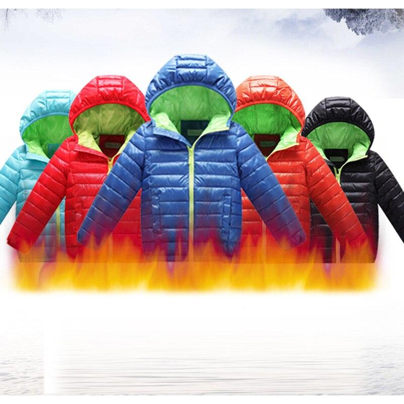 Для маленьких мальчиков зимняя куртка пальто для Возраст 4, 6, 8, 10, 12 лет хлопок модная верхняя одежда детская теплая плотная детская одежда П...