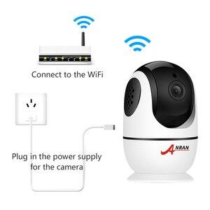 Image 2 - Anrun 1080P IP كاميرا لاسلكية كاميرا مراقبة للمنزل اتجاهين الصوت كاميرا مراقبة واي فاي للرؤية الليلية كاميرا تلفزيونات الدوائر المغلقة APP عن بعد
