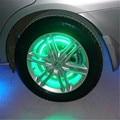 Green 24CM LED Strip Car  Motorcycle Light Flexible Light Lamp 12V decoration