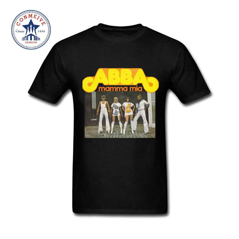 2017 Hot High Quality Cotton Abba Band Cotton T Shirt For