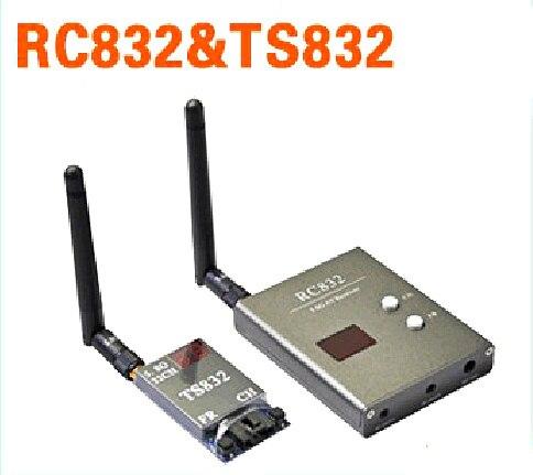 free shipping Boscam 32Ch 5.8G 600mw 5km Wireless AV Transmitter TS832 Receiver RC832 for FPV free shipping boscam 32ch 5 8g 600mw 5km wireless av transmitter ts832 receiver rc832 for fpv