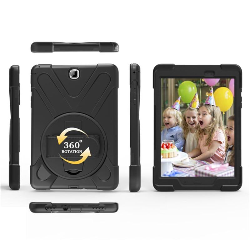 Hmsunrise Za Samsung Galaxy zavihek 9.7 etui T550 T555 Otroški varni - Dodatki za tablične računalnike - Fotografija 5