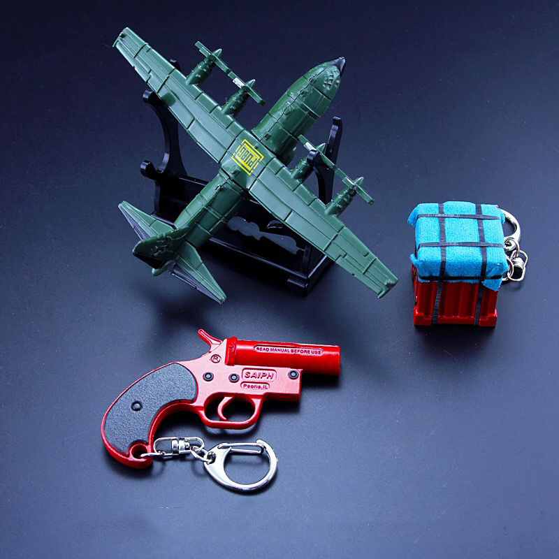 Aircraft Airdrop Box Keychain (7)