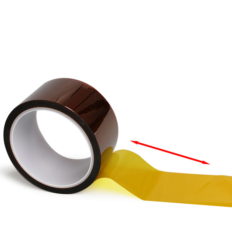 цена на 1Pc Width 10/12/15/18/20/25/30mm Length 30M Heat Resistant Polyimide Tape High Temperature Adhesive Insulation Kapton Tape P0