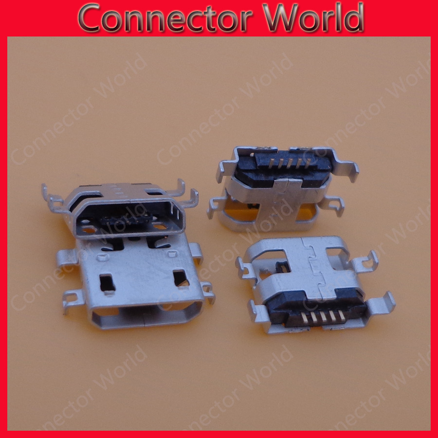 2/5/10pcs micro usb jack socket connector For Lenovo IdeaTab S6000F S6000 Yoga 8 10 Tablet / for Acer ICONIA B3-A other mobies