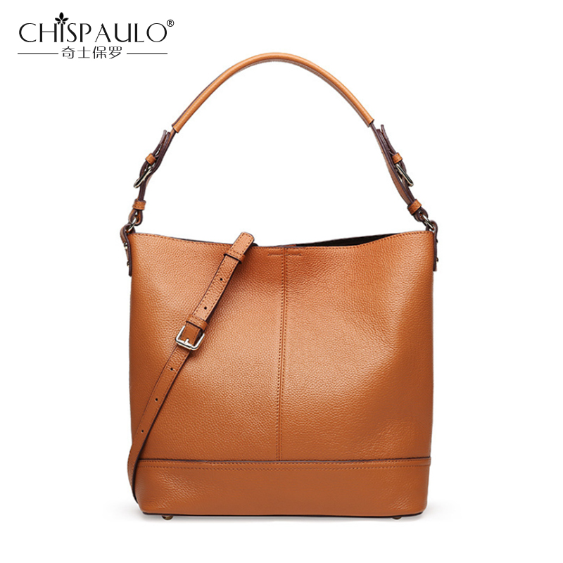 Fashion Genuine Leather Women Bags Large Capacity Ladies Handbags High Quality Natural Leather Shoulder Bag Female Casual Tote
