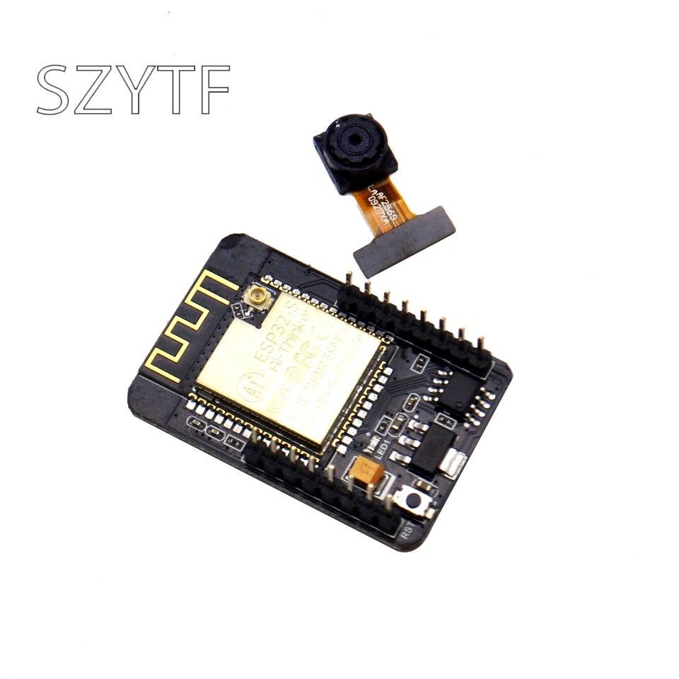10pcs WiFi Bluetooth Module ESP32 Serial to WiFi Camera Anxin ESP32 CAM Development Board